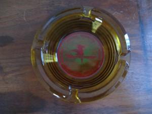 Thunderbird Midcentury Ashtray
