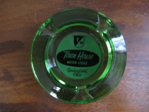 Townhouse Midcentury Ashtray