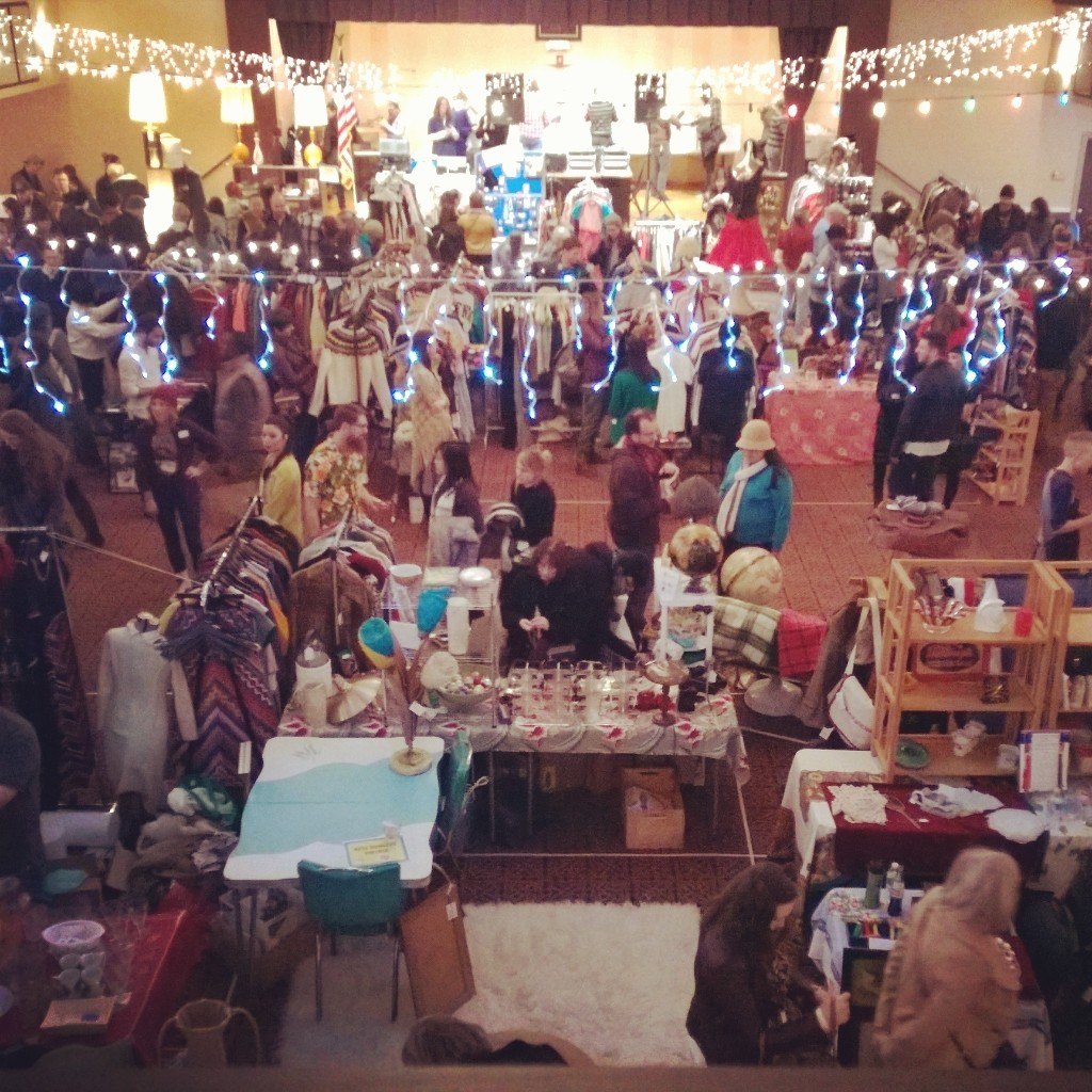 A View from the Balcony at the Pittsburgh Vintage Mixer