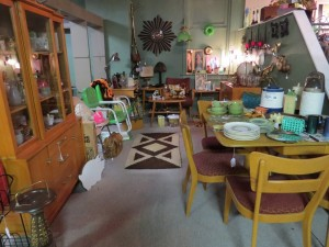 Our space at E.N. Miller Antique Mall, Verona